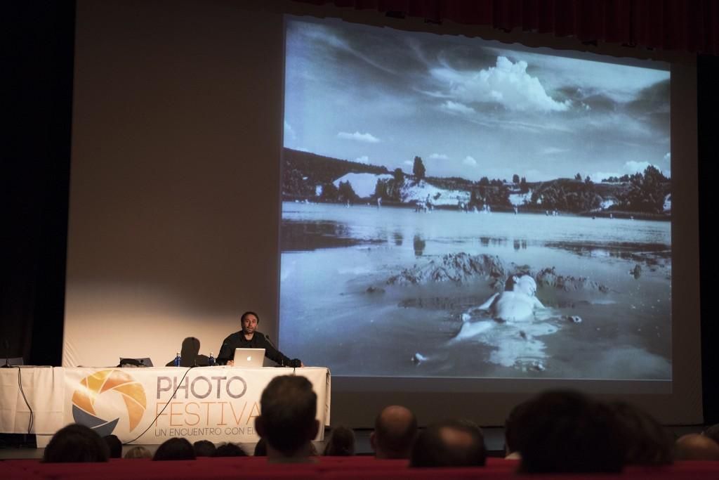 Ponencia de José Luis Valdivia en el Photofestival de Mijas 2014