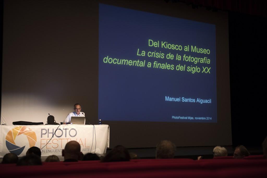 Ponencia de Manuel Santos en el Photofestival de Mijas 2014